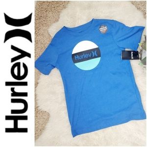 NWT💎HURLEY Boys Premium Fit Graphic Logo Tee-L